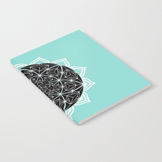 Teal Mandala Notebook