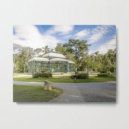 Palácio de Cristal Metal Print