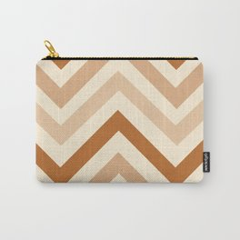 Pastel Chevron - Geometric Design Carry-All Pouch
