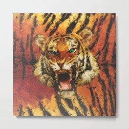 Set Me Free - Tiger Metal Print