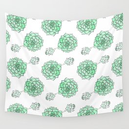 PATTERN II Succulent Life Wall Tapestry