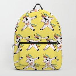 Unicorn Print Dabbing Girls Gift Unicorns Backpack