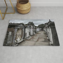 A Cemetery in New Orleans Rug