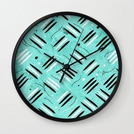 Tribus Wall Clock