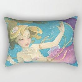 Mermaid Set Me Free Rectangular Pillow