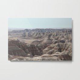 Badlands Metal Print