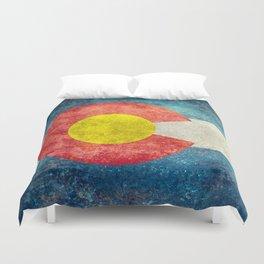 Coloradan State Flag Duvet Cover