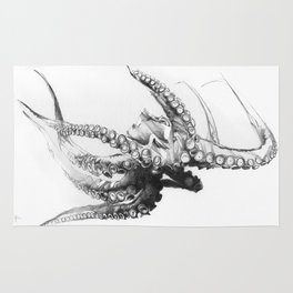 Octopus Rubescens Rug