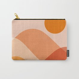 Abstraction_Mountains_Beach_Minimalism_001 Carry-All Pouch