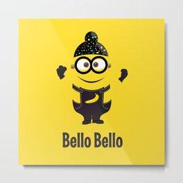 Bello Singh Punjabi (Balle Balle) Minion Inspired Parody Metal Print