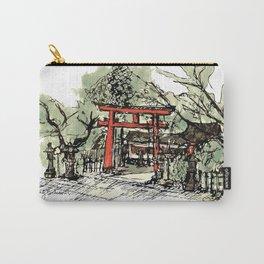 Yoshida Jinja Carry-All Pouch