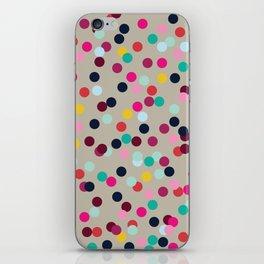 Confetti #2 iPhone Skin