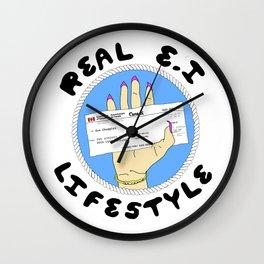 Real E.I Lifestyle Wall Clock