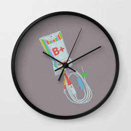 Be Positive Thinking Wall Clock