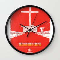outdoor Wall Clocks featuring The Outdoor Chapel - Home At Last by Home At Last - Rainbow Trail Lutheran Ca