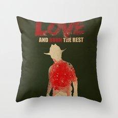 we bury the ones we love Throw Pillow