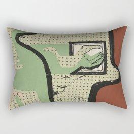 Le Corbusier - Femme lisant (woman reading) , 1936 Rectangular Pillow