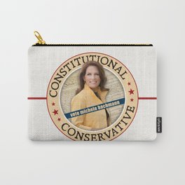 Constitutional Conservative Michele Bachmann Carry-All Pouch
