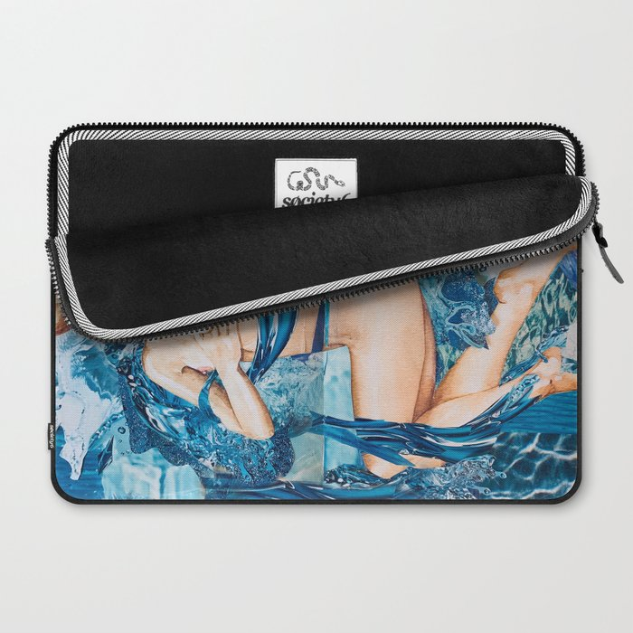 Water Splash Laptop Sleeve