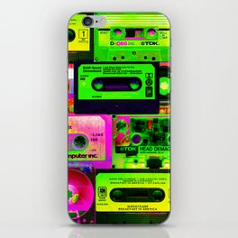 Cassetes iPhone Skin