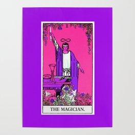 1. The Magician- Neon Dreams Tarot Poster