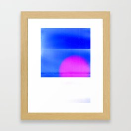 Film exp. series: 2011/#1 Framed Art Print