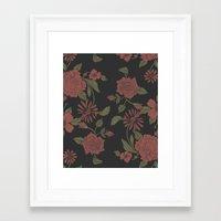 flora Framed Art Prints featuring Flora by Norman Duenas