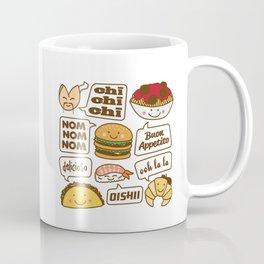 Talking Food Coffee Mug