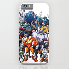 30 Days of Transformers - More Than Meets The Eye cast iPhone Case