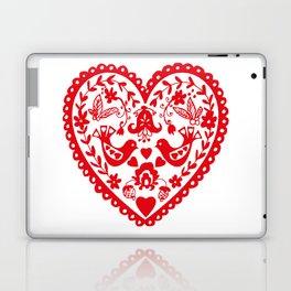 Folk Heart Laptop & iPad Skin
