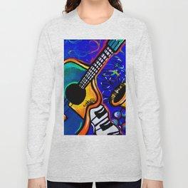 Carnival Jazz Painting Long Sleeve T-shirt