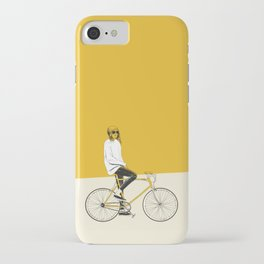 The Yellow Bike iPhone Case