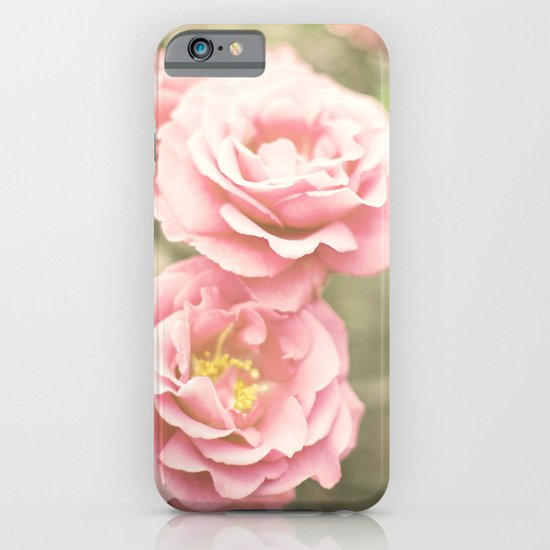Haze Roses (Retro and Vintage Flower Photography) iPhone & iPod Case