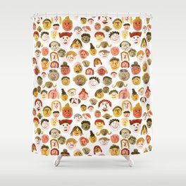 A Crowd of Diversity Shower Curtain