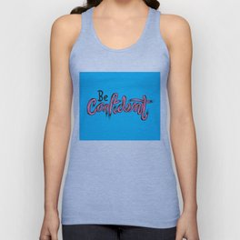 Just Be Confident Unisex Tank Top