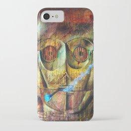 Rebel C3Po painting iPhone Case