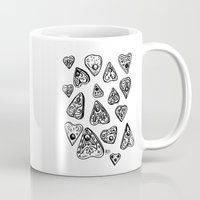 ouija Mugs featuring Ouija - 1 by Vicky Pandora