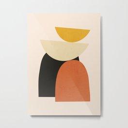 Abstract Shapes 41 Metal Print