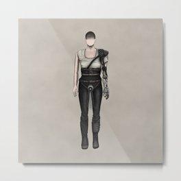 Furiosa without a face (MadMax) Metal Print