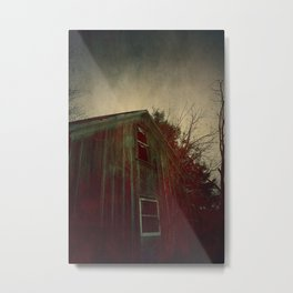 The Bleeding House Metal Print