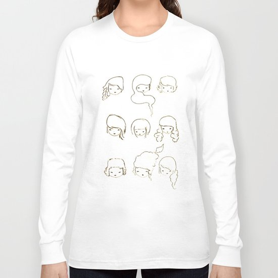 today's face Long Sleeve T-shirt
