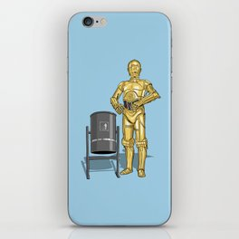 C3PO & Trash iPhone Skin