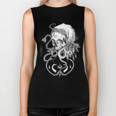 Witch Skull Biker Tank