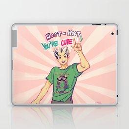 Hoot hoot you're cute! Laptop & iPad Skin