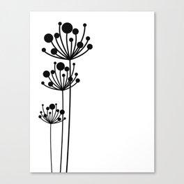 Minimal Floral Canvas Print