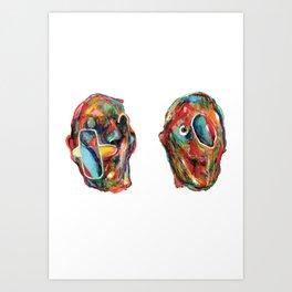 2Acres1Moles Art Print