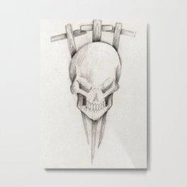 Triple cross Metal Print