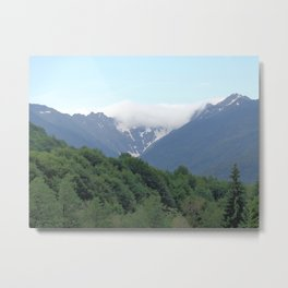 Breathtaking mountain view Metal Print