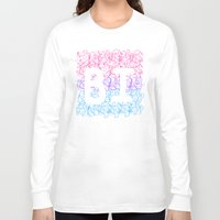 bisexual Long Sleeve T-shirts featuring bisexual by thetalkinghair