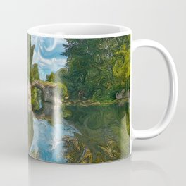 Warwick Castle Bridge Coffee Mug
